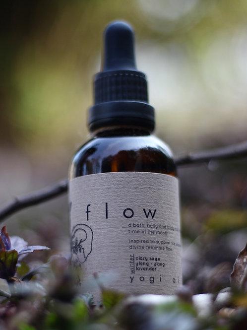 F l o w   Belly Bath Body Oil