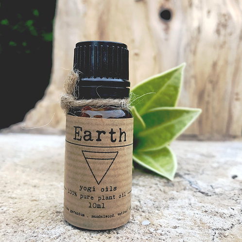 EARTH - 10ml pure organic plant oil