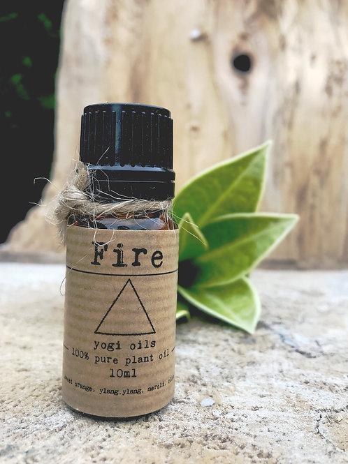 FIRE - 10ml pure organic plant essential oil
