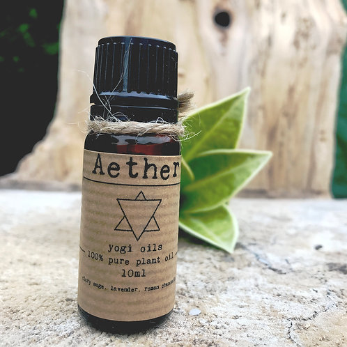 AETHER - 10ml pure organic plant oil