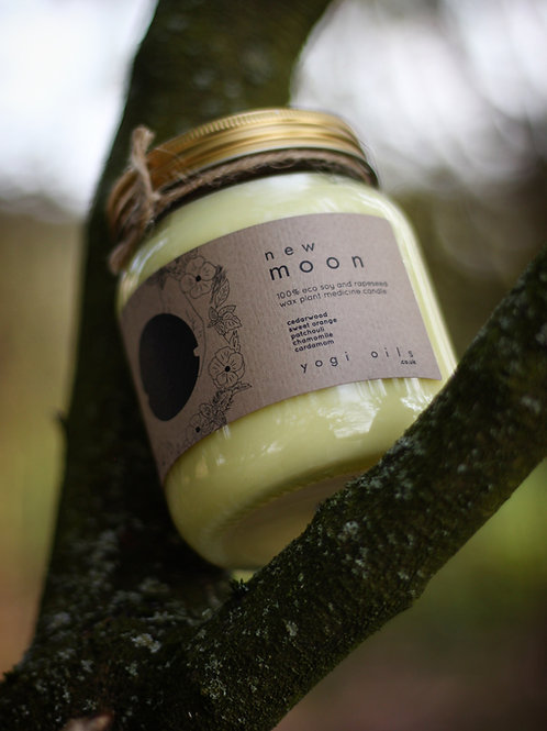 moon child candle / new moon 🌑