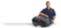Homme Automower Husqvarna robot