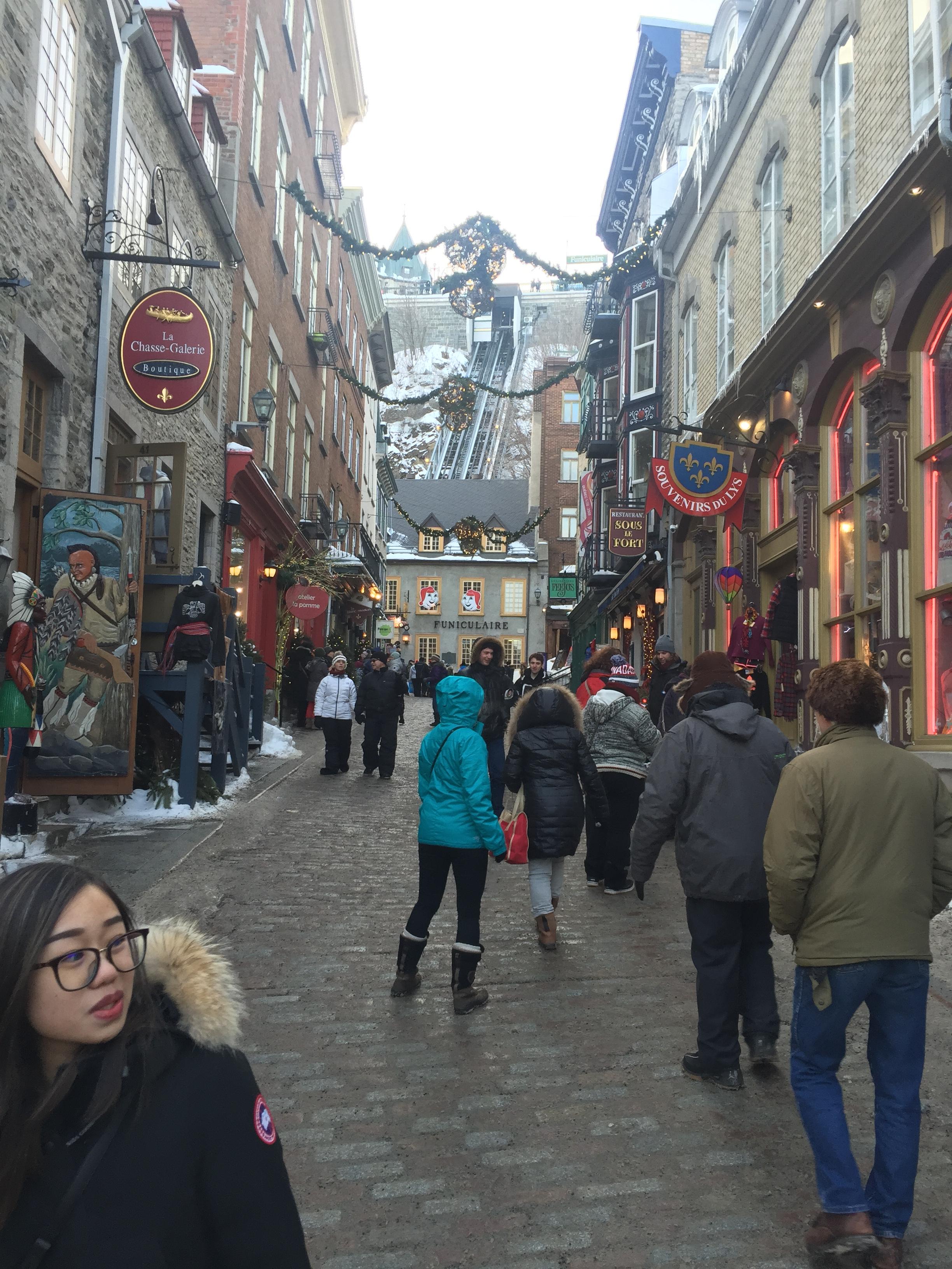 Visite guidée de la ville de Québec