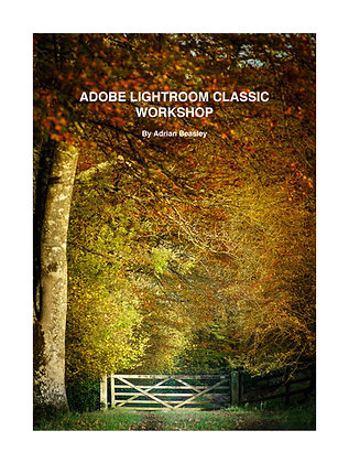 Lightroom Classic Workbook