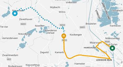 ChainCargo map