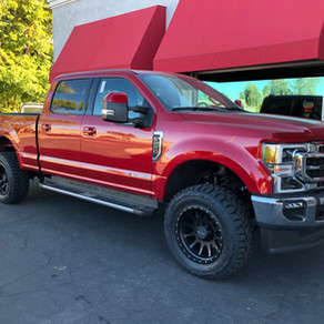 2020 Ford F250 Rapid Red