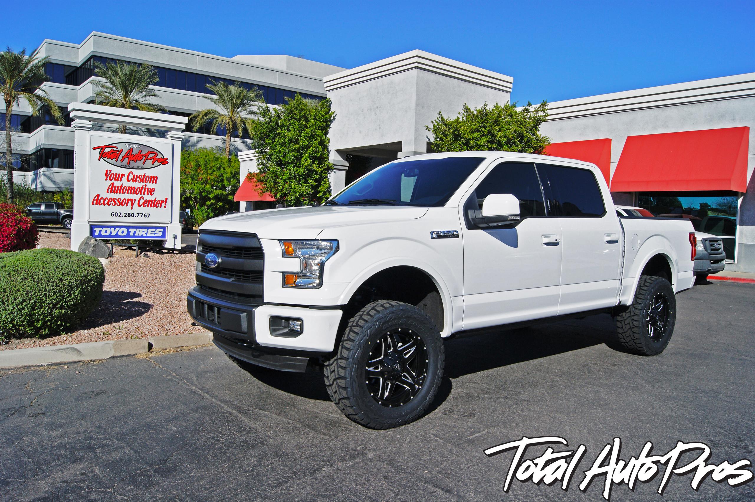 2015 Ford F150 White