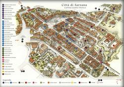Mappa di Sarzana