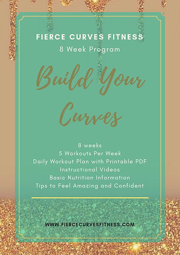 Build Your Curves - 8 Week Training Challenge