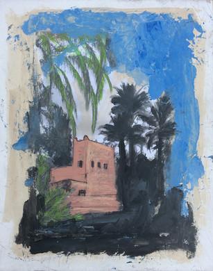 Grenier palmeraie Maroc