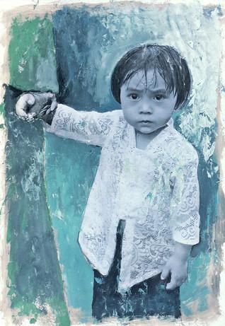 Petite fille Bali