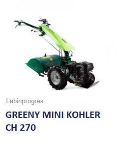 Einachser Greeny MINI Labinprogres- TPS Kohler- Motor