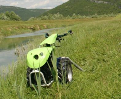 TPS Special Green 10 PS Einachser Reversierstarter