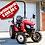 Thumbnail: Tym-Traktor T255M mit Industriebereifung