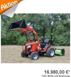 Allradtraktor TYM TS 255 HST