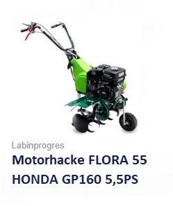 Motorhacke FLORA 55 HONDA 5,5 PS 50 cm Arbeitsbreite