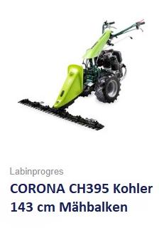 Balkenmäher Wiesenmäher TPS CORONA CH395 143 cm