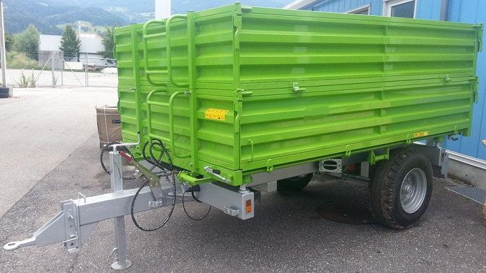 TPS PV 4000 Anhänger Dreiseitenkipper Hydraulikbremse Aufsatzbordwände
