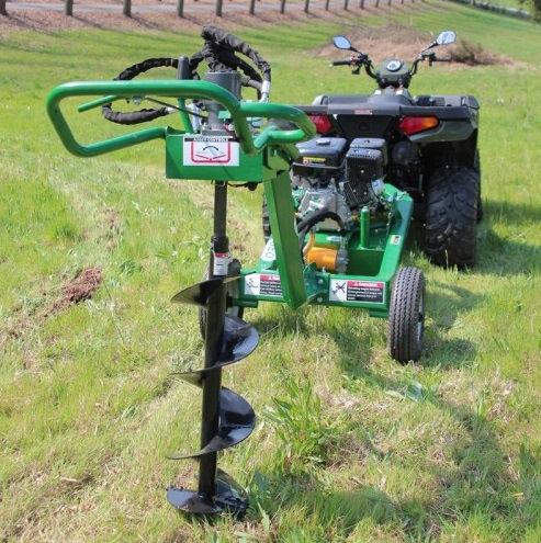 Erdbohrer ATV / Quad Geo ATV 9PS einschl. 5 Bohrern