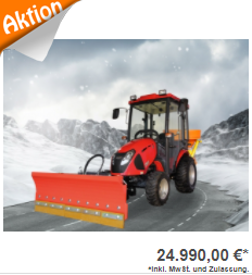 Allradtraktor Winterdienst TYM T265 NH