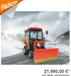 Allradtraktor TYM TS 255 HST Winterdienst