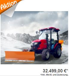 Allradtraktor Winterdienst TYM T395 SH
