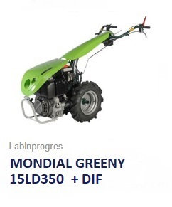 Einachser Labinprogres Mondial Greeny 7,5 PS Diesel