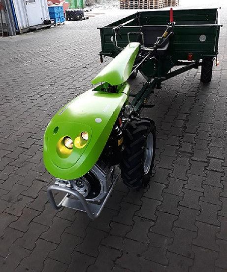 TPS Special Green 8,5 PS Einachser mit Anhänger 1t. Allrad Straßenzulas