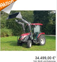 Allradtraktor TYM T555ST
