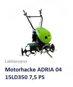 Motorhacke ADRIA 04 15LD350 7,5PS Diesel E-Start