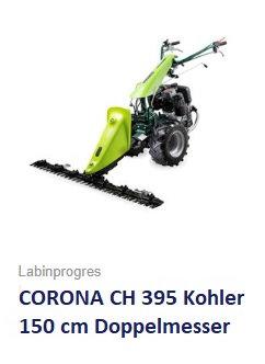 Balkenmäher Wiesenmäher TPS CORONA CH395 150 cm