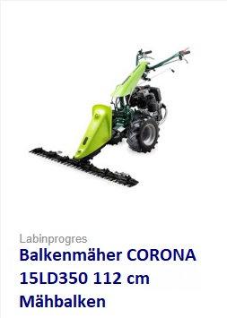 Balkenmäher Wiesenmäher TPS CORONA 112 cm 7,5 PS