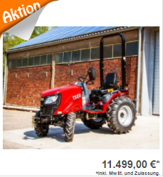 TYM TS 255 Allradtraktor 25,3 PS