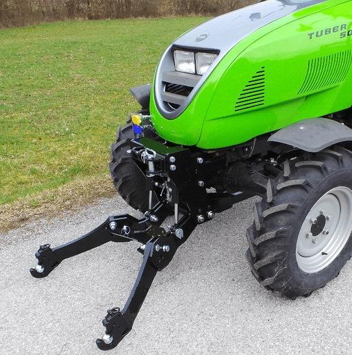 TPS Tuber 50 48 PS Allradtraktor Frontkraftheber Überrollbügel Runduml