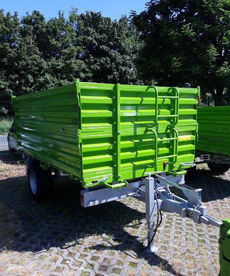 TPS PV 4000 Anhänger Dreiseitenkipper Auflaufbremse Aufsatzbordwände