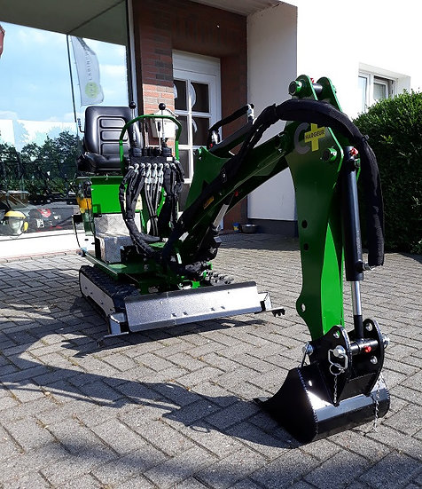 Minibagger Microbagger 6,5 PS 800 KG vollhydr. Raupenketten
