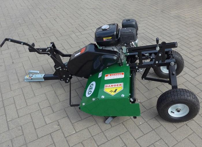 Quad/ATV Geo ATV-tiller Bodenfräse, 6,5 PS Benzin-Motor