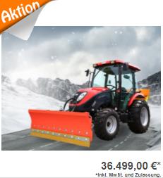 Allradtraktor Winterdienst TYM T555SH