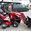 Thumbnail: TYM T195 HST Allradtraktor Frontlader & Schaufel Mähwerk