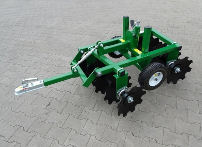 Quad ATV Geo TOW Scheibenpflug Scheibenegge Pflug