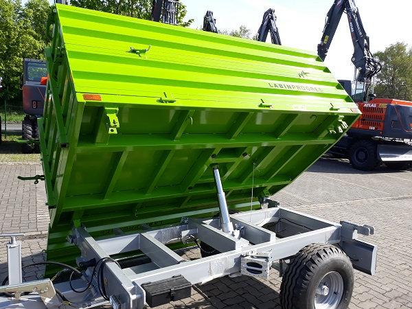 TPS PV 2000 Anhänger Dreiseitenkipper Hydraulikbremse