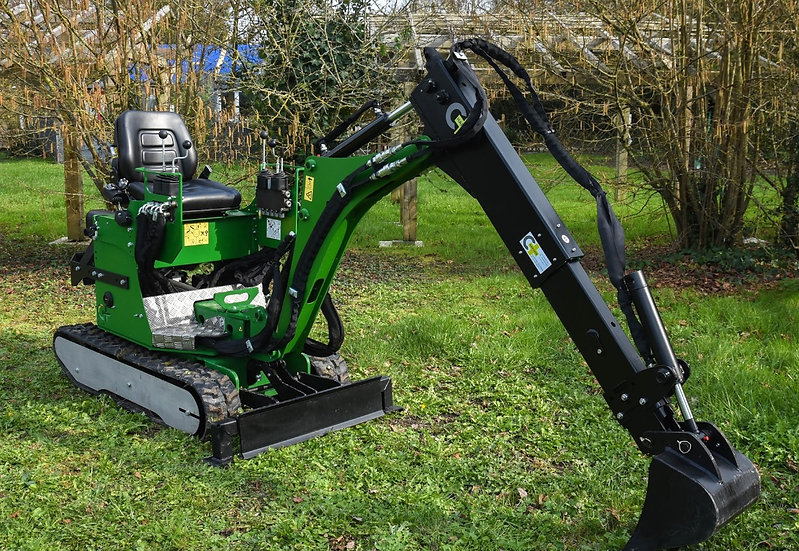 Minibagger Microbagger Cigale 1,5t 170 cm Grabtiefe 9,0 PS
