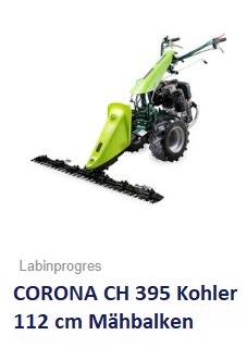 Balkenmäher Wiesenmäher TPS CORONA CH395 117 cm