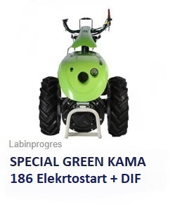 Einachser Special Green 8,5 Diesel +DIF Labinprogres
