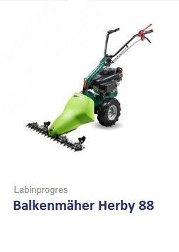 Balkenmäher Wiesenmäher TPS Herby 88 B&S Motor