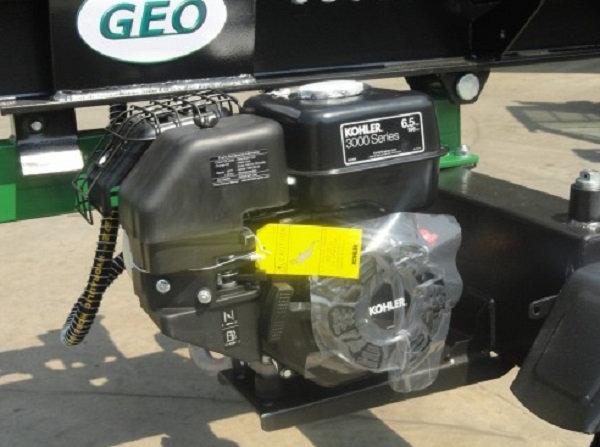 Holzspalter Geo LSM22 22ton, 6,5PS Benzin Motor