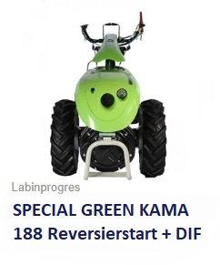 Einachser Special Green 10 Diesel +DIF Labinprogres