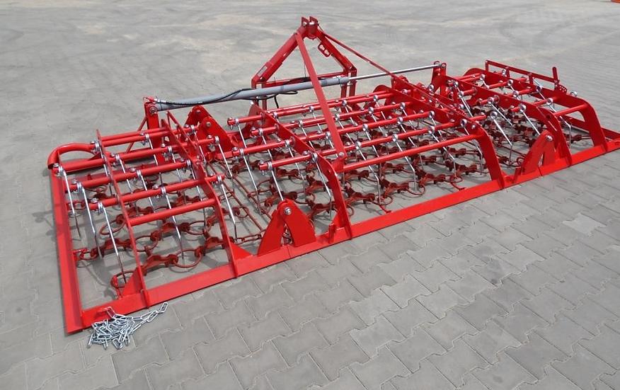Wiesenstriegel Kombination Schleppe WKJ4 4m hydr. NEU