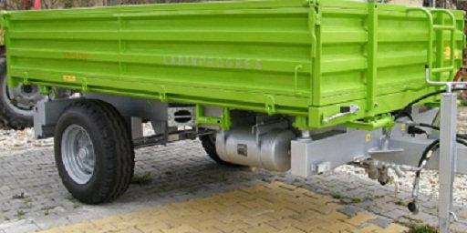TPS PV 3000 Anhänger Dreiseitenkipper Druckluftbremse