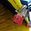 Thumbnail: Kehrmaschine KMS150cm Wassertank Seitenbesen Wanne